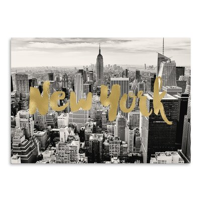 Americanflat 'New York Skyline' by Amy Brinkman Graphic Art