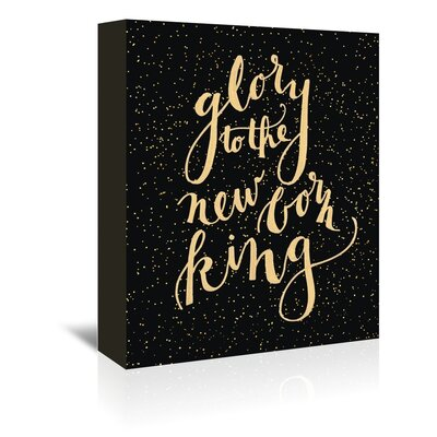 Americanflat 'New Kin' by Jetty Printables Typography Wrapped on Canvas