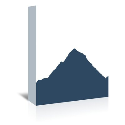 Americanflat 'Mountain' by Jetty Printables Graphic Art Wrapped on Canvas