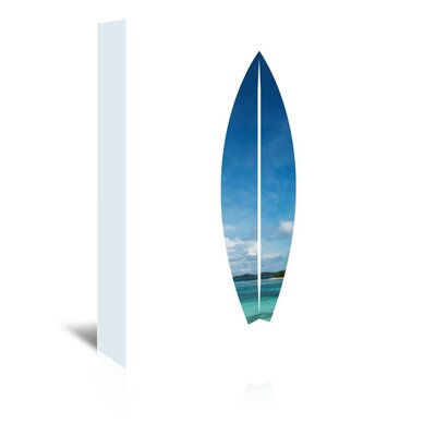 Americanflat 'Tropical Surfboard' by Jetty Printables Graphic Art Wrapped on Canvas