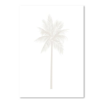 Americanflat 'Palm' by Jetty Printables Graphic Art in Beige