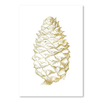 Americanflat 'Pine Cone' by Amy Brinkman Graphic Art
