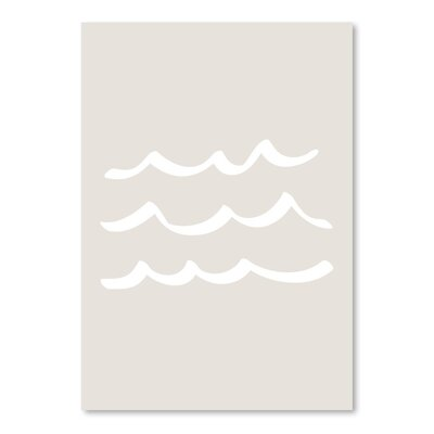 Americanflat 'Waves' by Jetty Printables Graphic Art