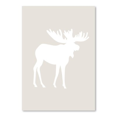 Americanflat 'Moose' by Jetty Printables Graphic Art