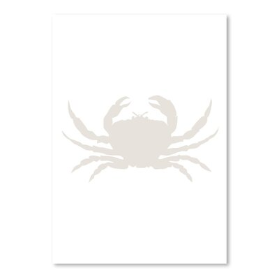 Americanflat 'Crab' by Jetty Printables Graphic Art in White