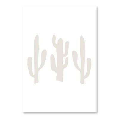 Americanflat 'Cactus' by Jetty Printables Graphic Art in White