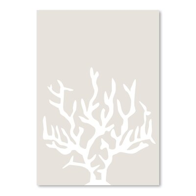 Americanflat 'Coral' by Jetty Printables Graphic Art in Beige