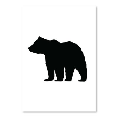 Americanflat 'Black Bear' by Jetty Printables Graphic Art