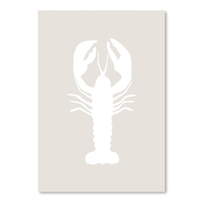 Americanflat 'Lobster' by Jetty Printables Graphic Art