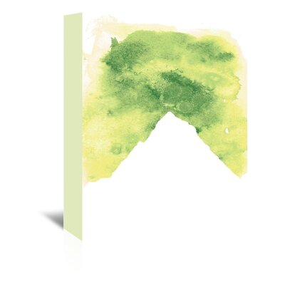 Americanflat 'Watercolour Mountain' by Jetty Printables Graphic Art Wrapped on Canvas