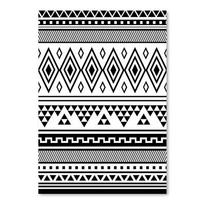 Americanflat 'Black Tribal' by Jetty Printables Graphic Art