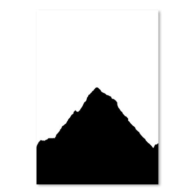 Americanflat 'Mountain' by Jetty Printables Graphic Art