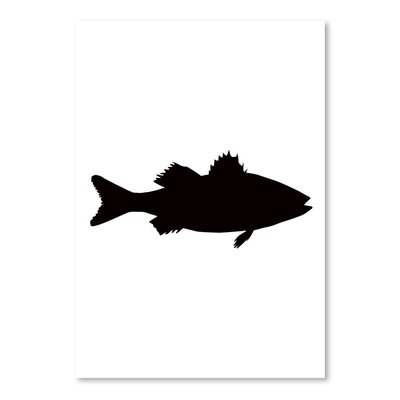 Americanflat 'Sea Bass' by Jetty Printables Graphic Art