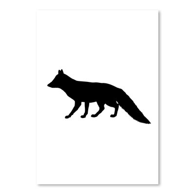 Americanflat 'Fox' by Jetty Print Tables Graphic Art