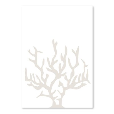 Americanflat 'Coral' by Jetty Printables Graphic Art