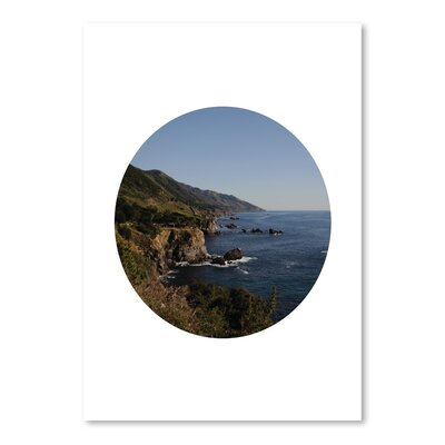 Americanflat 'Big Sur Circle' by Jetty Printables Photographic Print