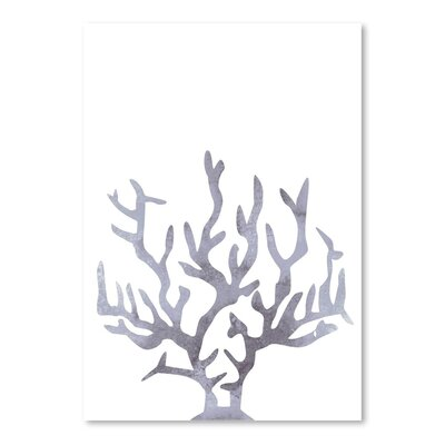 Americanflat 'Grey Watercolour Cora' by Jetty Printables Graphic Art