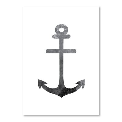 Americanflat 'White Anchor' by Jetty Printables Graphic Art
