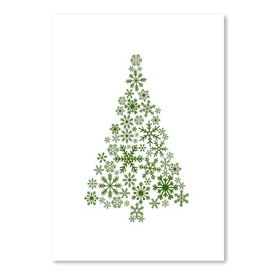 Americanflat 'Snowflake Tree' by Jetty Printables Graphic Art