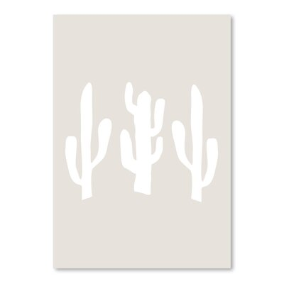 Americanflat 'Cactus' by Jetty Printables Graphic Art in Beige