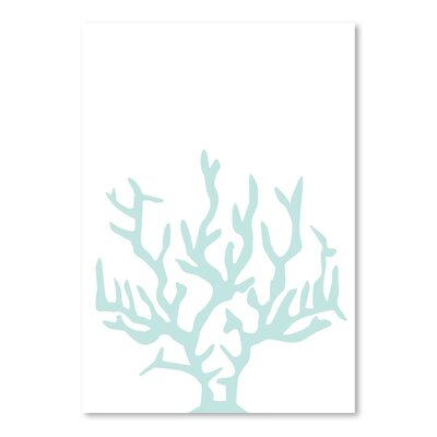Americanflat 'Mint Coral' by Jetty Printables Graphic Art