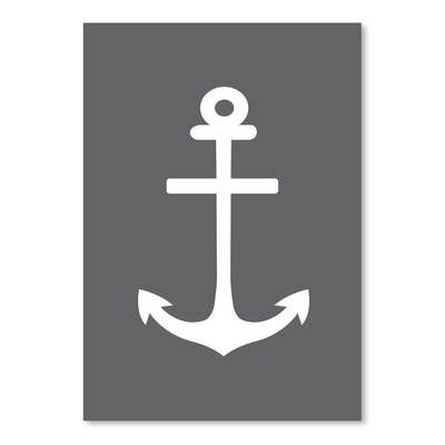 Americanflat 'Anchor' by Jetty Printables Graphic Art in Grey