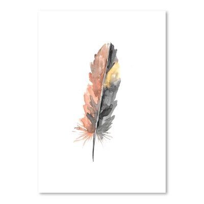 Americanflat 'Feather 1' by Jetty Printables Art Print