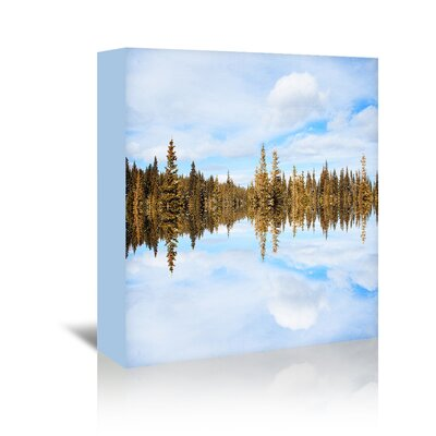 Americanflat 'Ice-Breakers' by Mina Teslaru Graphic Art Wrapped on Canvas