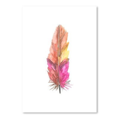 Americanflat 'Feather 6' by Jetty Printables Art Print