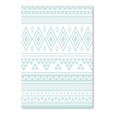 Americanflat 'Mint Tribal' by Jetty Printables Graphic Art