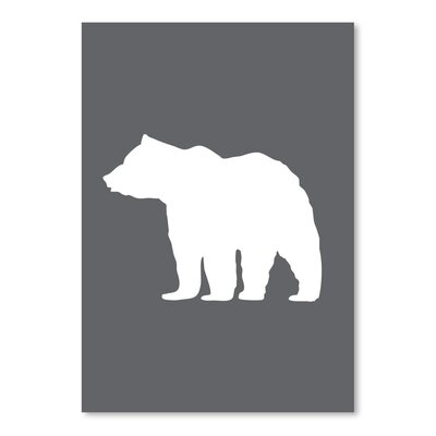 Americanflat 'Bear' by Jetty Printables Graphic Art