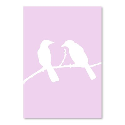 Americanflat 'Lavender Birds' by Jetty Printables Graphic Art