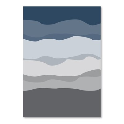 Americanflat 'Abstract' by Jetty Printables Graphic Art in Grey