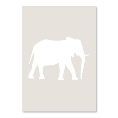 Americanflat 'Elephant' by Jetty Printables Graphic Art