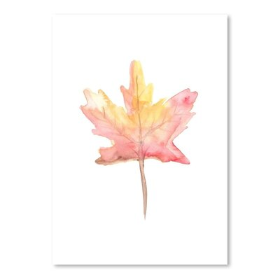 Americanflat 'Leaf' by Jetty Printables Graphic Art
