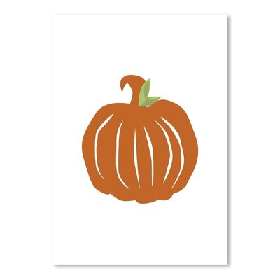 Americanflat 'Pumpkin' by Jetty Printables Graphic Art