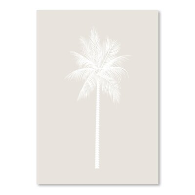 Americanflat 'Palm' by Jetty Printables Graphic Art in White
