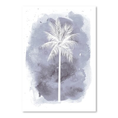 Americanflat 'Watercolour B Palm' by Jetty Printables Graphic Art
