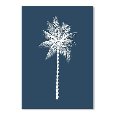 Americanflat 'Palm' by Jetty Printables Graphic Art in Blue