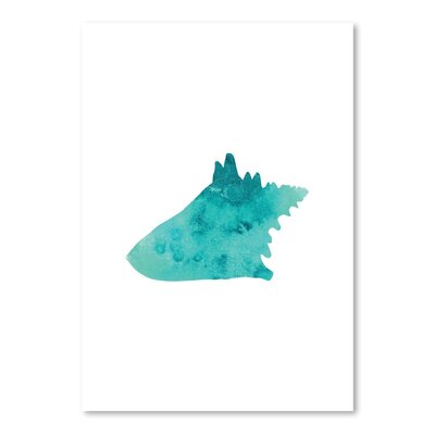 Americanflat 'Watercolour Conch' by Jetty Printables Graphic Art