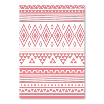 Americanflat 'Coral Tribal' by Jetty Printables Graphic Art