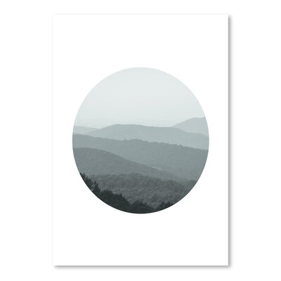 Americanflat 'Shenandoah 2 Circle' by Jetty Printables Photographic Print
