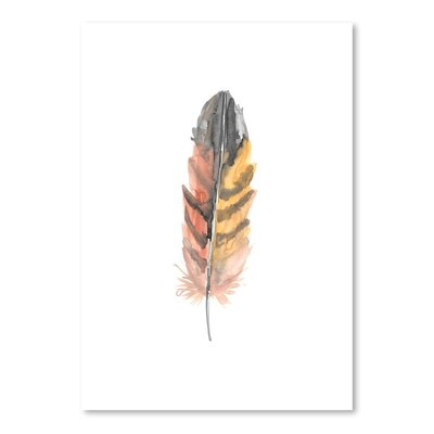 Americanflat 'Feather 3' by Jetty Printables Art Print