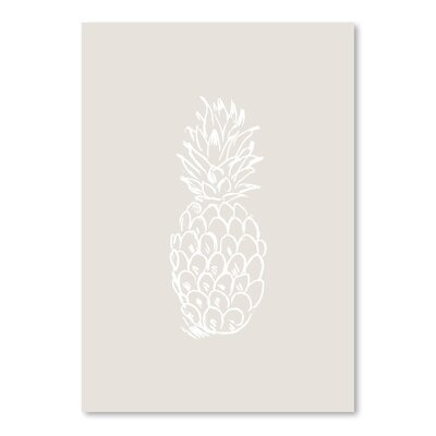Americanflat 'Pineapple' by Jetty Printables Graphic Art