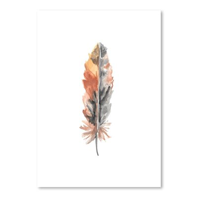 Americanflat 'Feather 4' by Jetty Printables Art Print