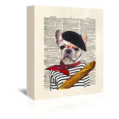 Americanflat 'Pierre' by Matt Dinniman Graphic Art Wrapped on Canvas