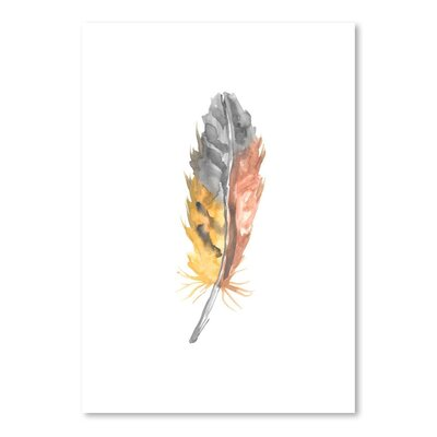 Americanflat 'Feather 2' by Jetty Printables Art Print