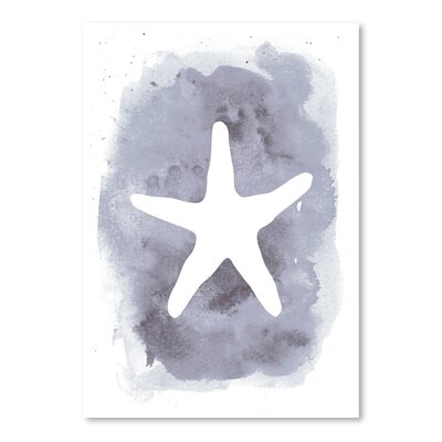 Americanflat 'Watercolour Starfish' by Jetty Printables Graphic Art