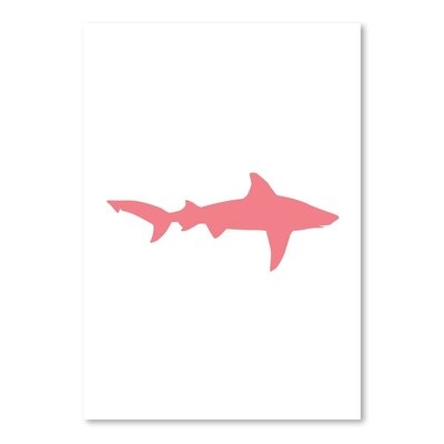 Americanflat 'Coral Shark' by Jetty Print Tables Graphic Art