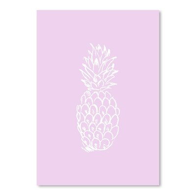 Americanflat 'Pineapple' by Jetty Printables Graphic Art  in White